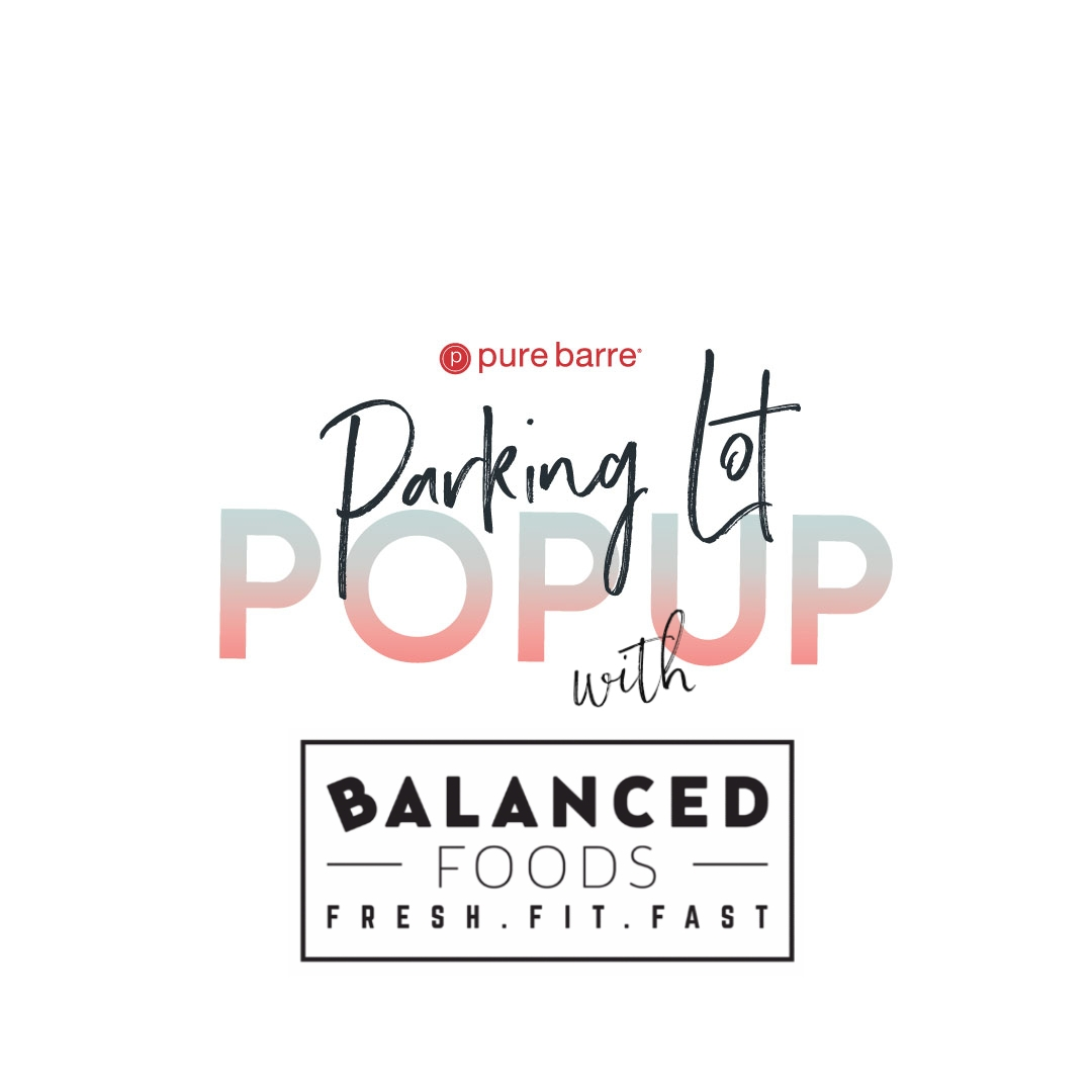 Parking Lot Pop Up with Balanced Foods