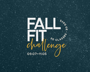 Join the Fall Fit Challenge