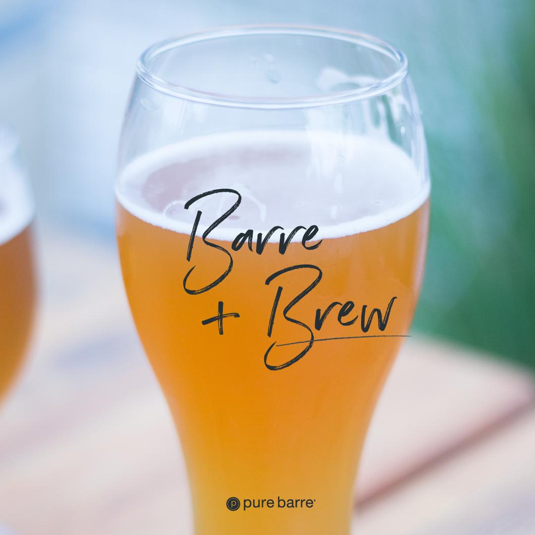 Barre & Brews Pop Up!