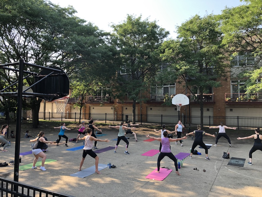 Summer Series Pop Up Class with Lakeview-Rosecoe Village
