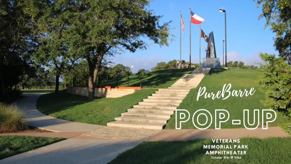 Pure Barre Pop-Up at Veterans Memorial Park Amphitheater