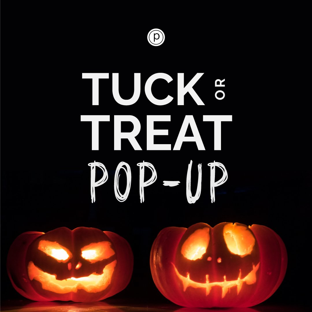 Tuck or Treat Pop Up Class!