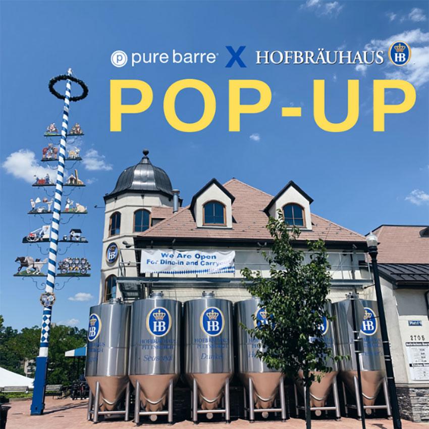 Pop Up at Hofbräuhaus Pittsburgh