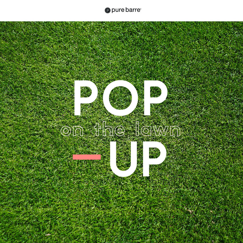 Pop Up on the Lawn!
